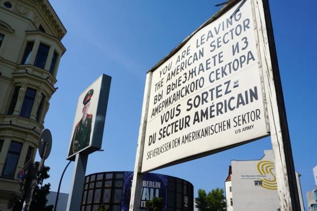 Berlin, Checkpoint Charlie, secteur américain