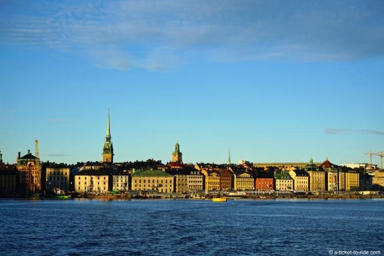 Stockholm, croisière dans l'archipel