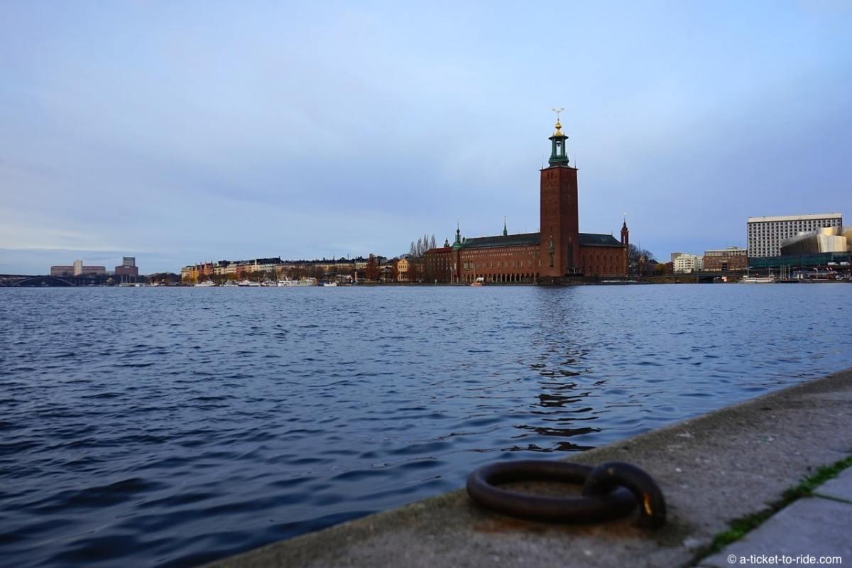 Stockholm, hôtel de ville