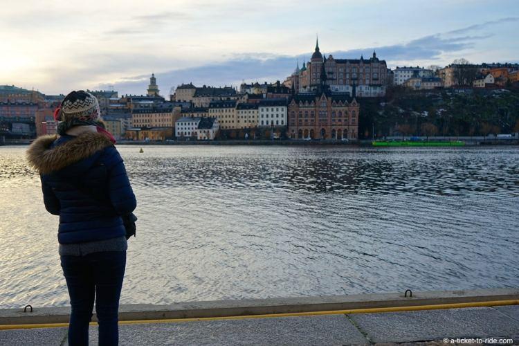Stockholm, vue sur Södermalm