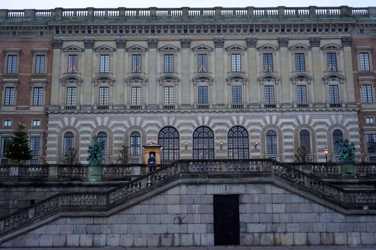 Stockholm, Palais Royal, façade