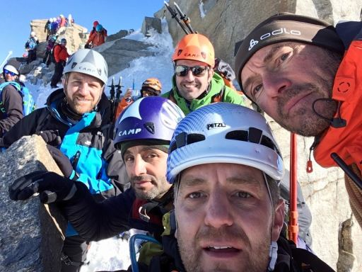 Selfie au sommet du Grand Paradis