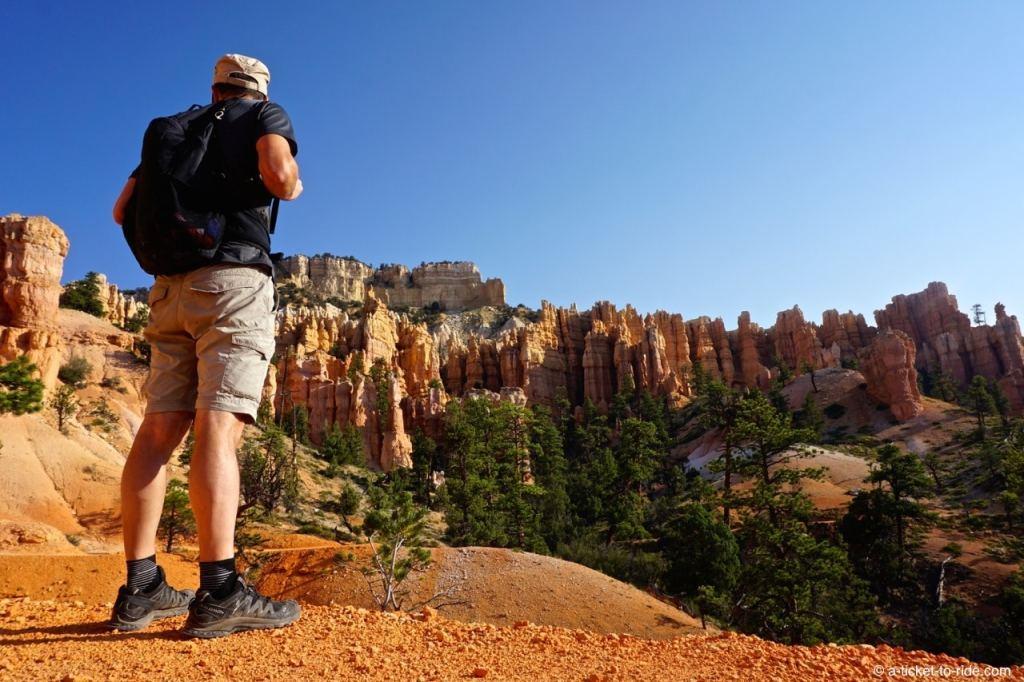 USA, Bryce Canyon, randonnée
