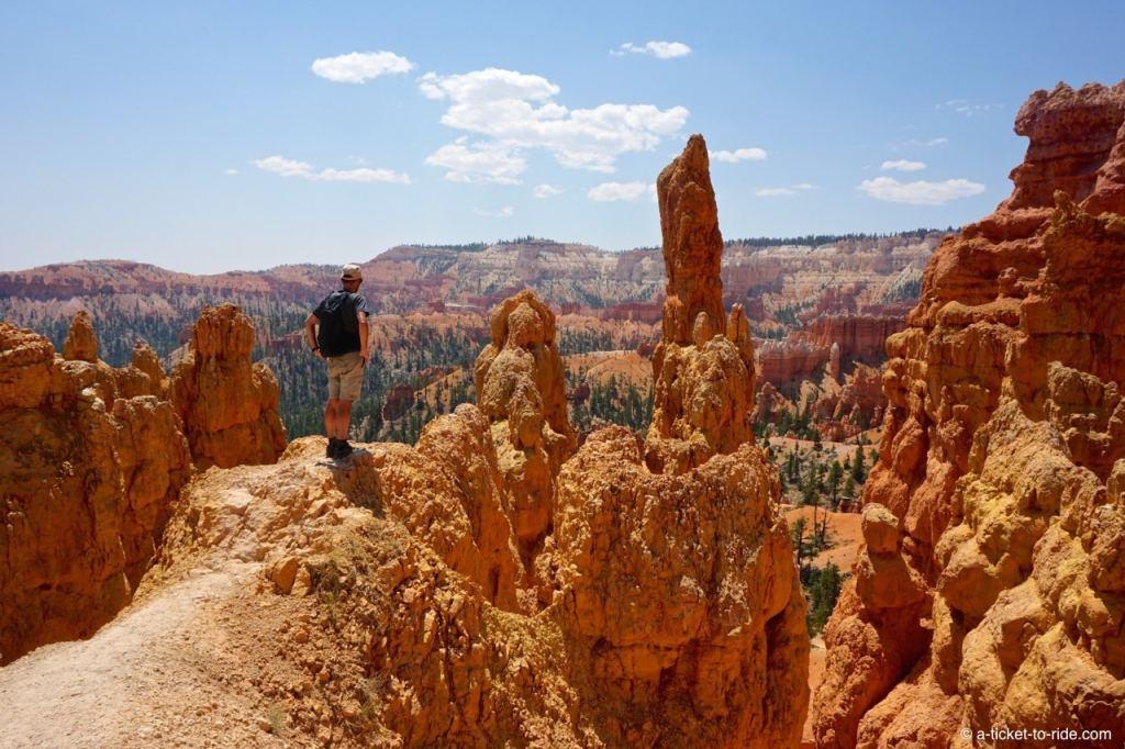 USA, Bryce Canyon, hoodoo