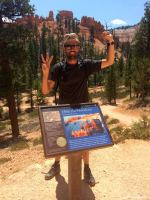 USA, Bryce Canyon, I hiked the hoodoos