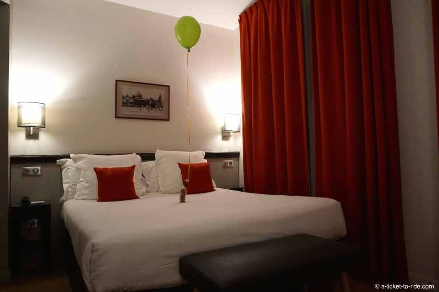 Toulouse, Hotel Albert 1er, chambre