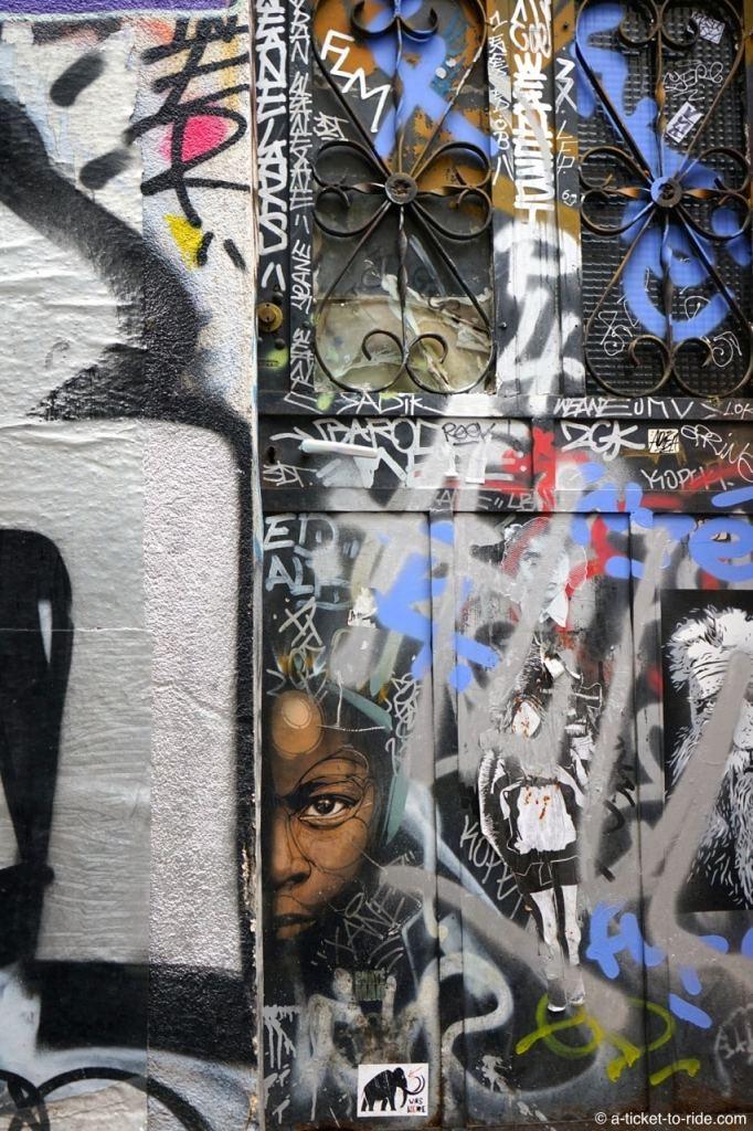 Toulouse, graff rue Gramat