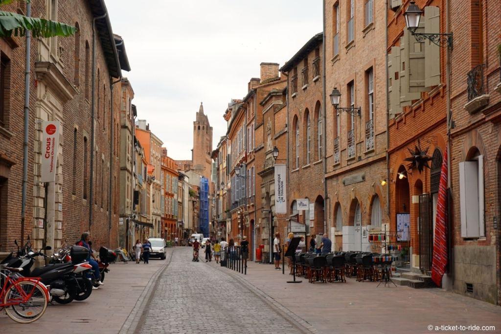 Toulouse, rue de Taur
