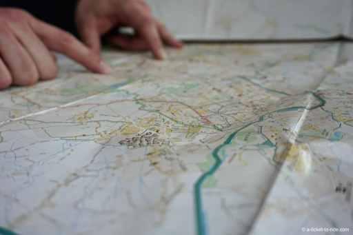 Plan Lille-Roubaix à vélo