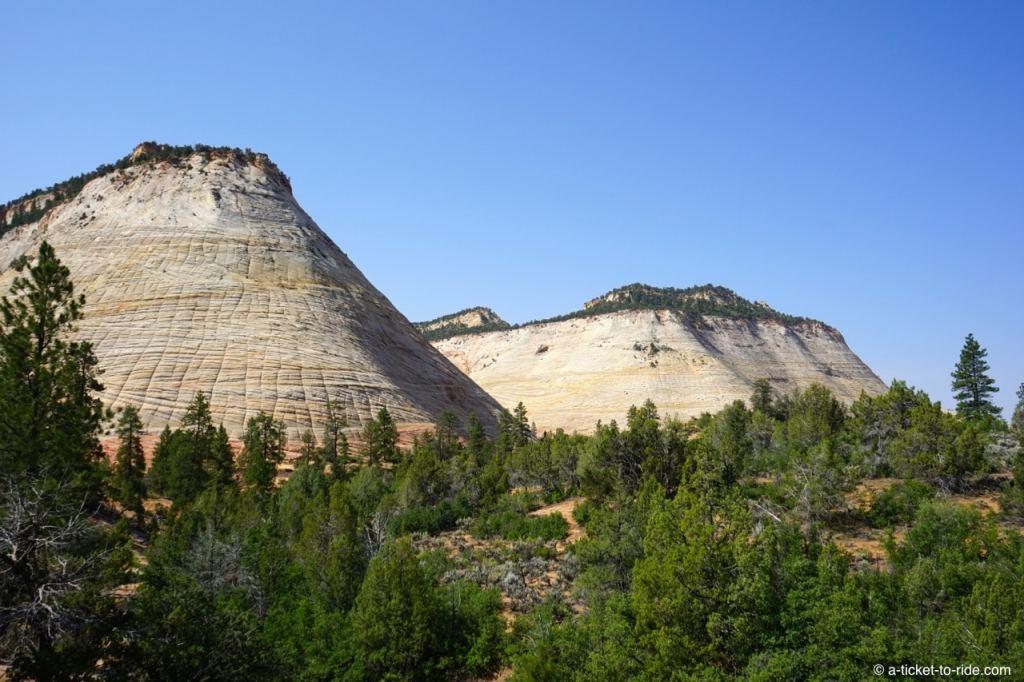 Zion National Park, Mount Carmel highway
