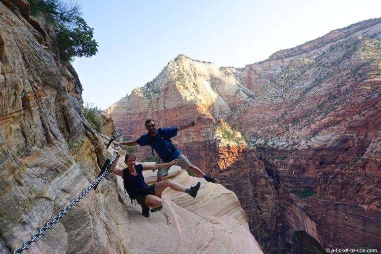 Zion National Park, Hidden Canyon Trail