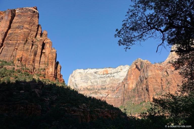 Zion national Park, falaises