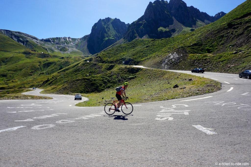 Hautes-Pyrénées, ascension col du Tourmalet