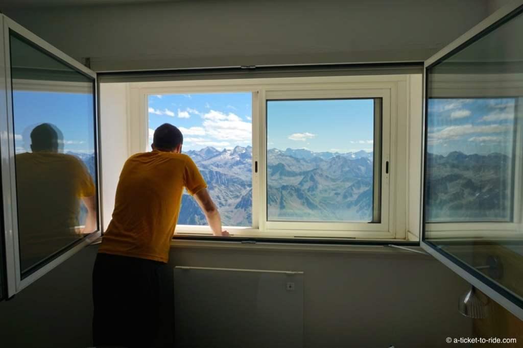 Chambre avec vue, pic du Midi