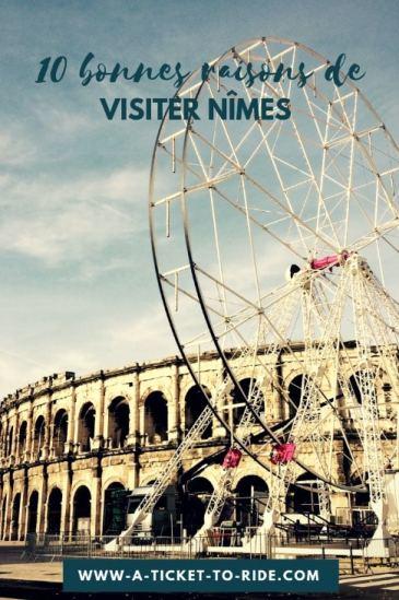 Pinterest, 10 bonnes raisons de visiter Nîmes