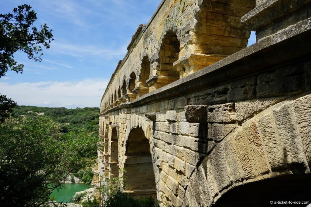 L'aqueduc romain est classé à l'Unesco