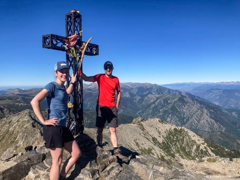 Photo souvenir au sommet du Canigou