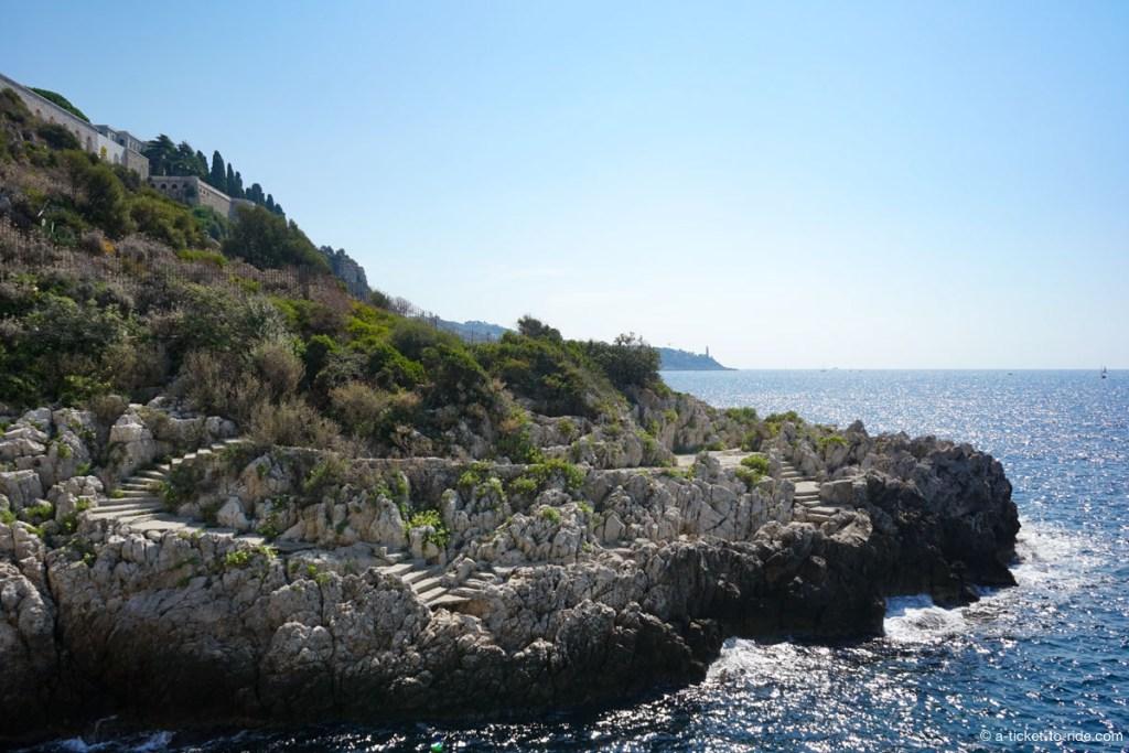 Chemin des douaniers, Cap de Nice