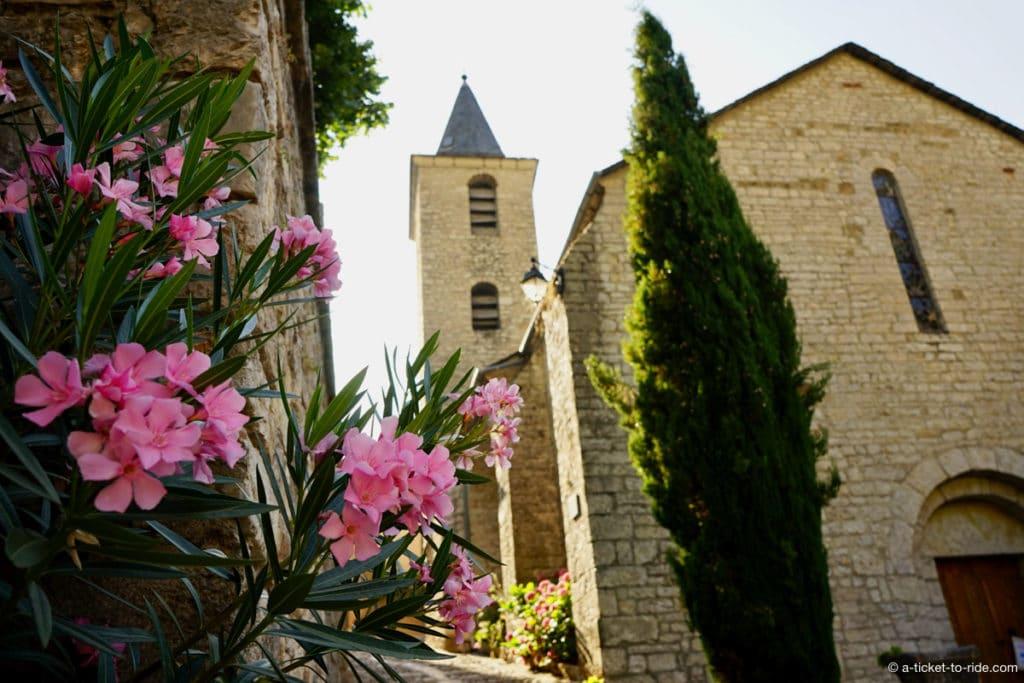Sainte-Enimie, église