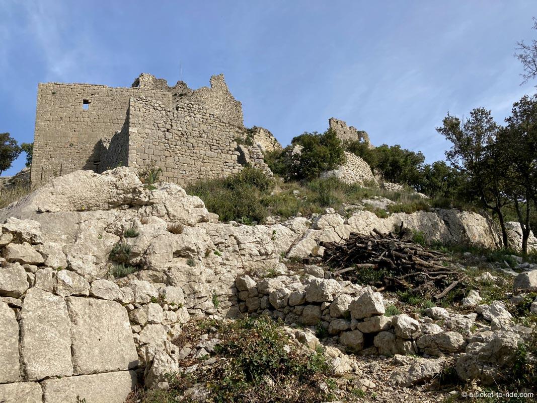 Ruines château de Montferrand