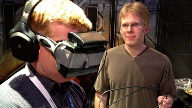 John Carmack demonstrates the first 'oculus' prototype – E3 2012
