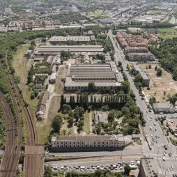 Current site for the new Transport Museum in Budapest. Credits: Budapest Museum of Transport