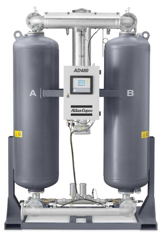 AD 480_dessicant air dryer_front