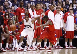 The Dayton v Xavier rivalry, one of the best in college basketball, took this past season off.