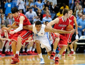 Davidson challenged themselves last season, playing games against the likes of Duke, UNC, Virginia and Wichita State.