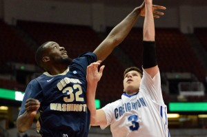 GW helped improve its RPI by playing (and beating) teams like Creighton in important non-conference games.