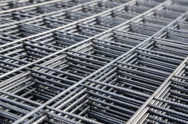 Pack Of Concrete Reinforcement Steel Mesh A393 4 8m X 2