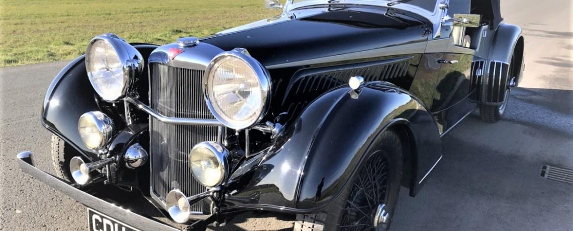 Alvis 4.3 Vanden Plas designed Tourer (1937)