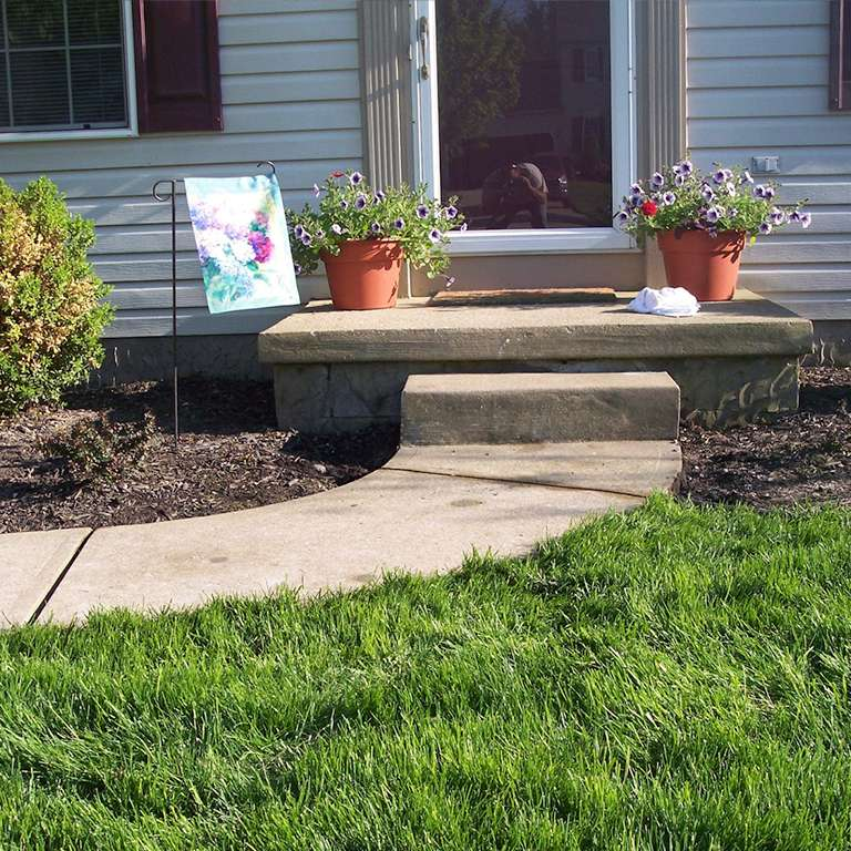 concrete step repair leveling costs