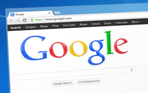 google browser window mockup