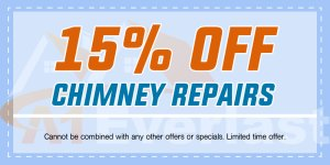 15% Off Chimney Repairs by a Chimney Contractor