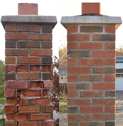 The Three Most Common Chimney Repairs
