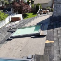skylight and roof repair