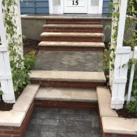 steps and walkway installation