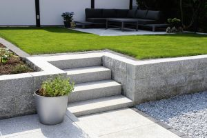 new stone masonry walls