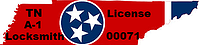 A-1 Locksmith Tennessean locksmith licence number : 00071