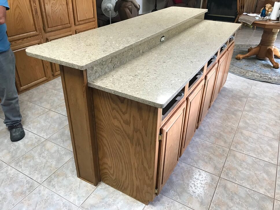 Cambria Linwood with Eased edge