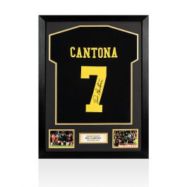 Speaking in his second autobiography second half, keane tells how sir alex ferguson wanted him to succeed eric cantona in the famous number. PRE-FRAMED Eric Cantona Signed Number 7 Shirt - Black ...