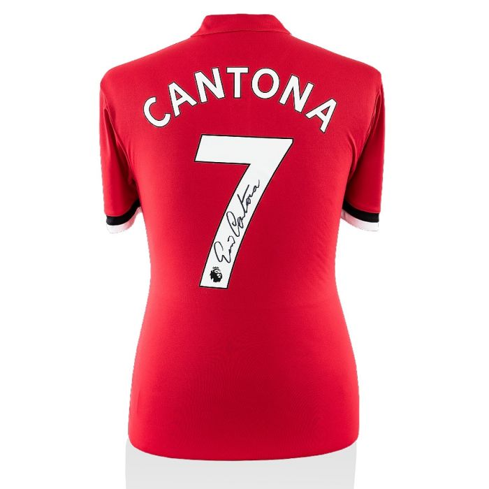 Browse memorabilia signed by marseille legends past and present, such as eric cantona, with this range that features signed shirts, photos, boots,. Eric Cantona Signed Manchester United Shirt Modern Number 7 Genuine Signed Sports Memorabilia