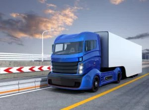 automated freight truck