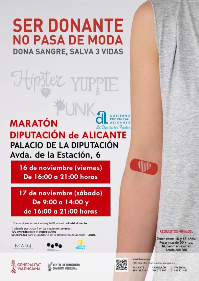 Cartel Maratón Diputación 2018