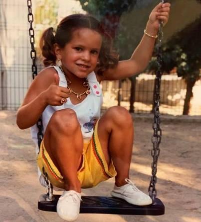 Rosalia Cuando era solo una niña