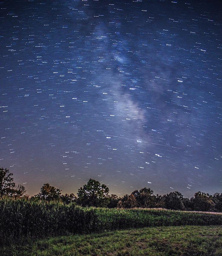 Cuando las estrellas dejan traza la Vía Láctea se desdibuja
