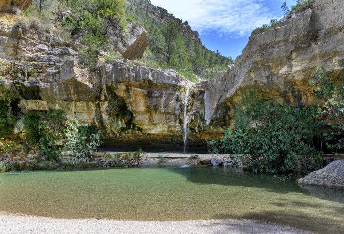 El paisaje de Quesa/@escapadarural.com ( Fotomicar / Shutterstock)