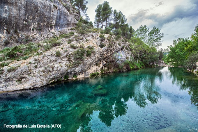 Las aguas de Pou Clar/ @Ontinyent.es ( Luis Botella)