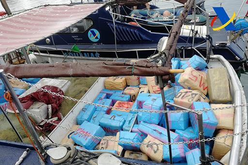 La Agencia Tributaria aprehende 3.600 kilos de hachís en un pesquero en Sanlúcar de Barrameda (Cádiz)